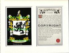 SPENCE to STUBBS - Your Family Coat of Arms Crest & History