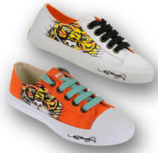 Ed Hardy LR DREW Kids Canvas Top Lace Up Sneakers Shoes
