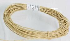 Hemp Waxed cord 100% with Pure Bees wax  Hemp Twine -   - Holds Flame