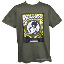 Mens Super Funk Soul Retro Manga Funky Vintage Kung Fu Movie T-Shirt All Sizes