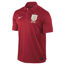 Nike England 2013-2014 Dri-Fit  Away Soccer Jersey   Brand New Red