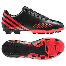 adidas Predito LZ TRX FG 2012 Soccer Shoes Black / Red / Black New  Kids Youth