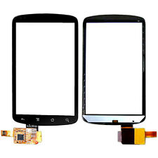 (BOX PACKAGING) TOUCH SCREEN DIGITIZER FOR HTC GOOGLE NEXUS ONE G5 #BLACK