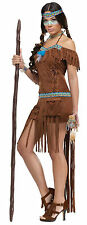 Adult Sexy Indian Princess Native American Medicine Woman Costume Halloween