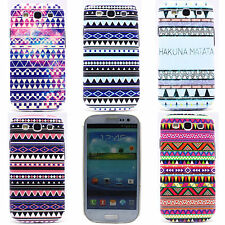 Triangle Wave Mark Hard PC Back Protector Case Cover for SAMSUNG i9300 Galaxy S3