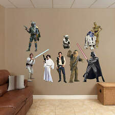 Star Wars FATHEAD Style Official Vinyl Wall Graphic Decal Sticker - PICK ONE