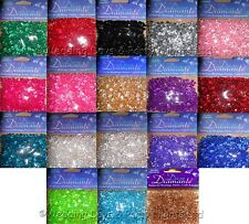 3300 Diamante Crystals Wedding Engagement Party Table Confetti Decoration 6mm
