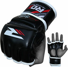 Authentic RDX MMA UFC Grappling Gloves Fight Boxing Punch Bag Kick Muay Thai Pad
