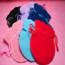 VELVET DRAWSTRING MONEY BAG POUCH FOR JEWELLERY FAVOURS SMALL GIFTS - 7cm