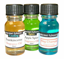 Various Ancient Wisdom Fragrance Oils For Burners Home Room Aromatherapy Scent