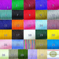 25 Metros de Hilo 1mm Para Pulseras Macramé  M810E  A Escoger thread filetto Fil