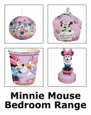 Minnie Mouse Bedroom Item Range - Bedding Curtains Canvas Arts Lighting & More
