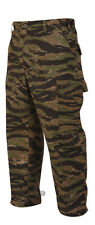 Tru-Spec Tiger Stripe camouflage BDU Pants 60/40 Cotton/Poly Twill
