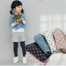 Fall Autumn Girls Toddlers Polka Dot Leggings Kids Cotton Pants Trousers Tights