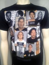 FALL '13 AUTHENTIC SONS OF ANARCHY GROUP MUG SHOT PRISON SOA SAMCRO SHIRT S-3XL