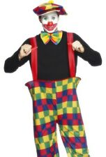Adult Circus Clown Hoop Oversized Pants Halloween Costume