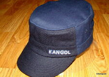 Kangol  Headwear  Wool  Flexfit  Textured  Army  Cap  Color  Navy Blue