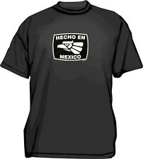 Hecho en (Made in) Mexico Men's Shirt PICK Size & Color