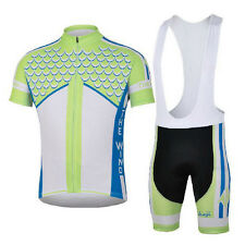 Water God Cycling Bike Short Sleeve Clothing Set Bicycle Men Jersey Bib Shorts