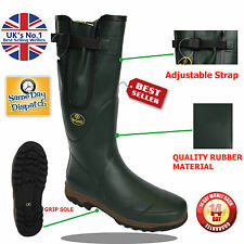 Mens Wetlands Rubber Waterproof Walking Wellies Rain Festival Wellington Boots