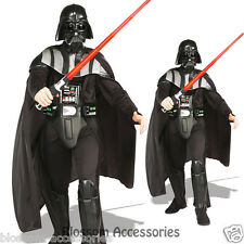 C223 Star Wars Darth Vader Deluxe Licensed Mens Fancy Dress Adult Costume