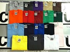 12 NEW PROCLUB HEAVY WEIGHT T-SHIRT COLOR PLAIN PRO CLUB TEE BLANK S-3XL 12PC