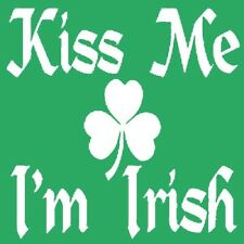 Kiss Me I'm Irish T-shirt St Patricks Day Funny S-3XL