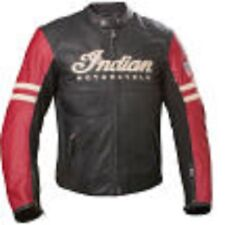 Indian Motorcycle Men's Racer Leather Jacket ~ Black ~ 2863622