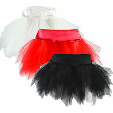 "3 Colors!!!New Sexy Mini TUTU Skirt 13"" S M L XL XXL"