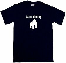 Ask Me About My Gorilla Logo Kids Tee Shirt Pick Size & Color 2T - XL
