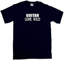Guitar Gone Wild Mens Tee Shirt Pick Size & Color Small - 6XL