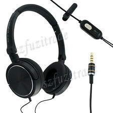 Headphones Earphone Headsets W/ Microphone For All Phone iPhone Nokia PC Laptop