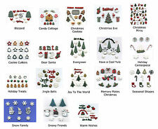 Dress It Up Buttons Flatbacks * CHRISTMAS COLLECTION * Choose from 18 Themes