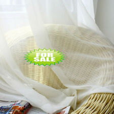 1/2 Yard*280CM White Sheer Voile Window Curtains Fabric(Material)
