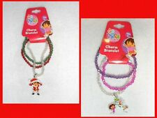 Dora the Explorer Nick Jr Charm Bracelets Winter Christmas NEW