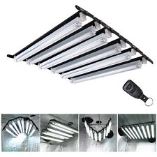 2'/4ft T5 Grow Light 2/4/6/8 Hydroponic Fluorescent Tube Lamp Remote Control Opt