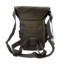 Outdoor Tactical Military Drop Leg Bag Thigh Panel Utility Waist Belt Pouch Bag