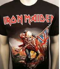 AUTHENTIC IRON MAIDEN THE TROOPER HEAVY METAL ROCK BAND T SHIRT S M L XL 2XL