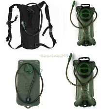 3L/ 2L Bladder Water Bag Pouch Backpack Hydration Outdoor Hiking Climbing Sports