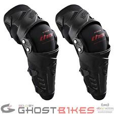 THOR FORCE MOTOCROSS PIVOT KNEE SHIN GUARDS MX MOTO-X ARMOUR PADS CE APPROVED