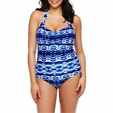 Swim Suit Swimwear Arizona Ruched One-Piece Swimsuit - Jr PLUS Size 2X New
