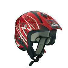 SPADA EDGE Trials Casco - Movimento Rosso
