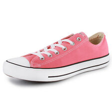 Converse Chuck Taylor All Star Ox Womens Canvas New Shoes Trainers Light Pink