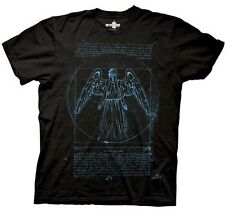 AUTHENTIC DOCTOR WHO VITRUVIAN WEEPING ANGEL SYFY TV SHOW T SHIRT S M L XL 2XL