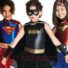 Girls Superhero Fancy Dress Child Kids Halloween Childrens Costume New Outfit