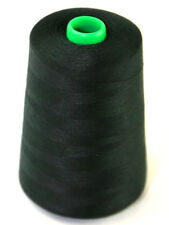 5000 yard Cone Budget 75's Polyester Sewing Thread - Black, White or Natural