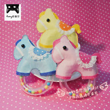 Baby Handmade Horse shaker Toy / Original Design / DIY Package avaliable / Cute
