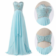 Strapless Long Prom Homecoming Bridesmaid Evening Cocktail Party Gowns Dresses