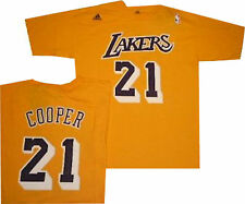 Los Angeles Lakers Lakers Michael Cooper Throwback Net Print Game Time Shirt