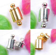 10Sets GOLD & SILVER PLATED & Powerful - MAGNETIC Clasps & Hooks 14MM